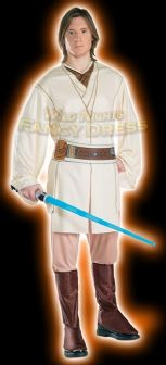 FANCY DRESS COSTUME ~ STAR WARS OBE WAN KENOBE ADULT